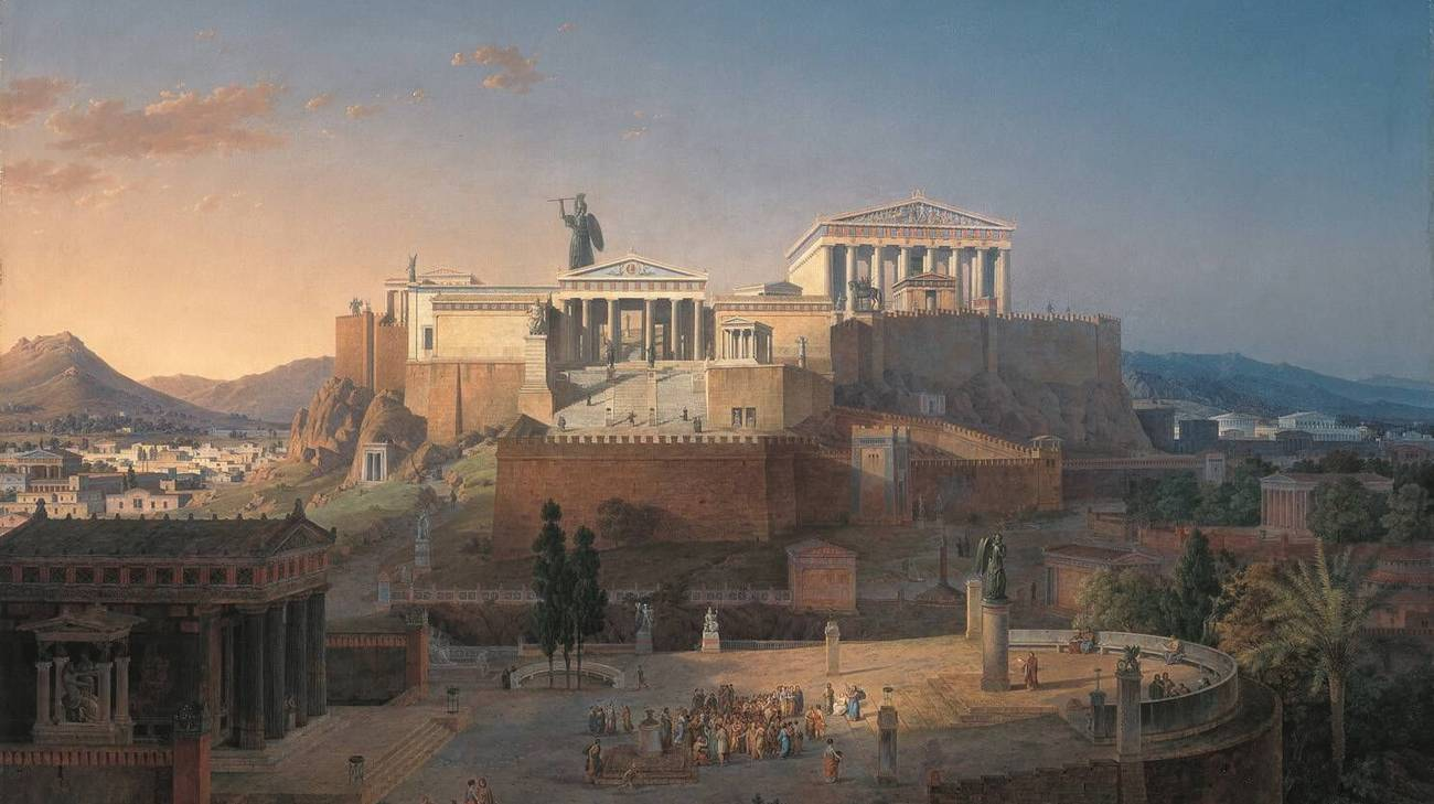 Ricostruzione dell'Acropoli